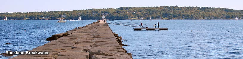 Rockland Breakwater Lighthouse, Rockland Maine