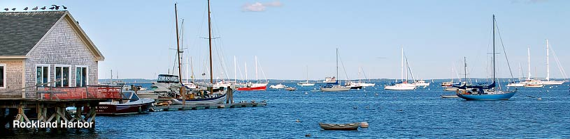 Rockland Harbor, Rockland Maine