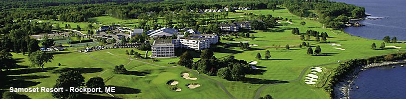 Samoset Resort in Rockport Maine