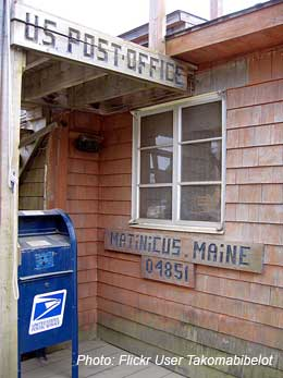 Matinicus Island Maine Post Office