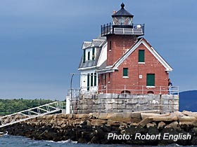 Rockland Breakwater Light Rockland Maine Things To Do