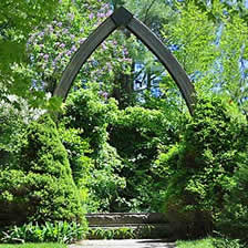 Vesper Hill Childrens Chapel Arch entrance