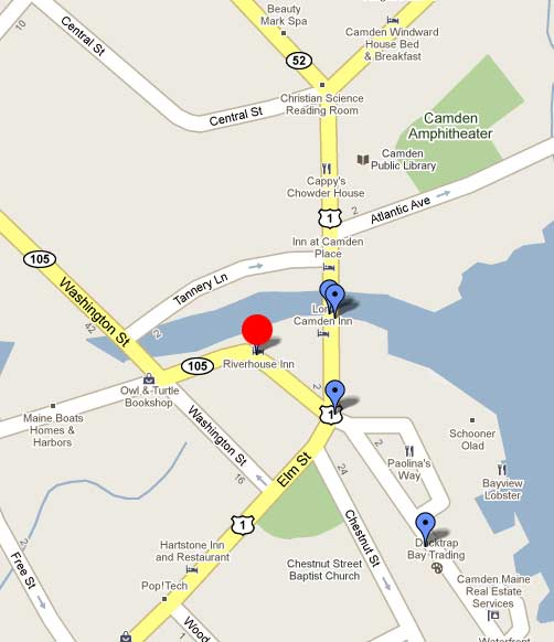 Riverhouse Ice Cream map