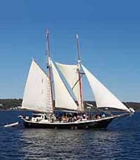 Schooner on Penobscot Bay