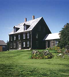 Olson House in Cushing Maine